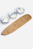 Love Milo - Indigo snack bowl set
