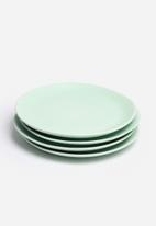 Urchin Art - Side plate set of 4