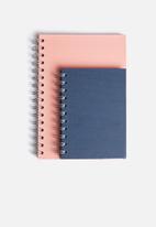MatchBOX - Lined notebook A5 & A6 set
