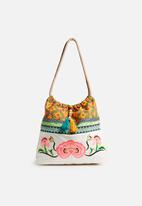 Glamorous - Embroidered tote