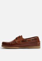 Grasshoppers - Jack Leather Boat Shoe