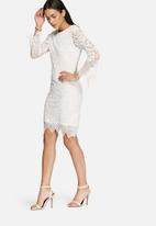 Glamorous - Lace sleeve dress