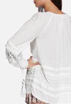 Glamorous - Boho embroidered top