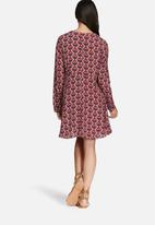 Glamorous - Peach print dress