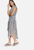 Glamorous - Stripe shirt dress