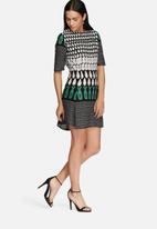 Glamorous - Border print dress