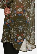 Glamorous - Floral chiffon shirt