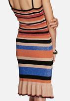 Glamorous - Lurex stripe dress