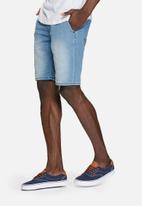 PRODUKT -  Jogger denim shorts