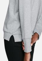 dailyfriday - V-neck boxy sweat