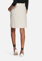 VILA - Calico skirt