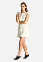 Dahlia - Jacquard Shift Dress