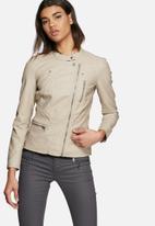 ONLY - Freya faux leather biker jacket