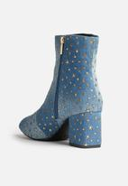 Daisy Street - Kylee Denim Star Boot