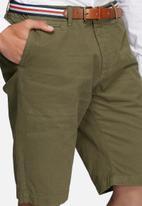 Jack & Jones - Lorenzo belted shorts