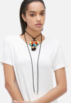 Pichulik - Wanderlust pom-pom necklace