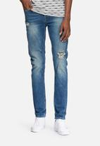 Only & Sons - Loom distressed slim