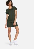 dailyfriday - Turn-up tee dress