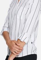 Noisy May - Cono pinstripe shirt