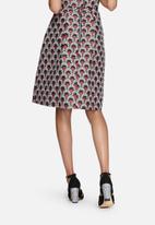 Glamorous - Fan brocade skirt
