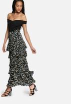 Glamorous - Vintage ruffled skirt