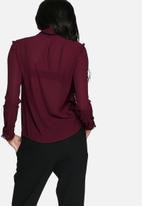 Glamorous - Burgundy blouse