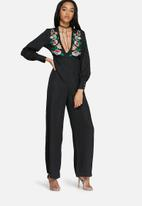 Glamorous - Embroidered jumpsuit