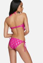 South Beach  - Pinapple print bikini brief