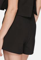 Missguided - Double layer bandeau playsuit