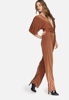 Missguided - Slinky kimono jumpsuit