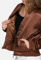 Missguided - Satin bomber jacket