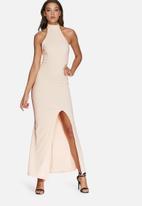 Missguided - High neck maxi dress