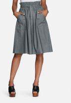 dailyfriday - Paperbag waisted skirt with pockets