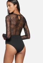 Glamorous - Lace V-neck bodysuit