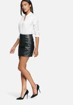 Selected Femme - Harmonia leather skirt