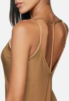 Missguided - Strappy slinky top