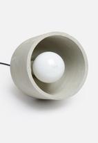 Sixth Floor - NY concrete pendant