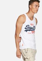 Superdry. - Vintage logo duo vest