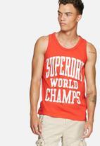 Superdry. - World champs vest