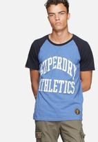 Superdry. - Team tigers raglan tee