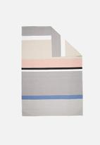 Sixth Floor - Pastel stripe rug