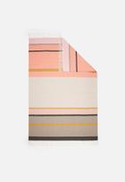 Sixth Floor - Colourful stripe rug
