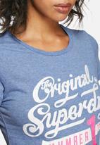 Superdry. - Number one tee
