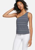 Noisy May - Augusta one-shoulder tee