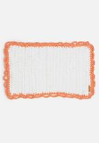 Sew Hooked - Coral mat