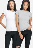 dailyfriday - Crew neck tee - 2 pack