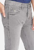 Sergeant Pepper - Stovepipe tapered jeans