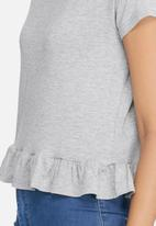 dailyfriday - Short ruffle tee