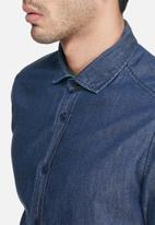 basicthread - Denim regular fit shirt