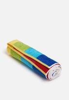 Nortex - Multi-stripe beach towel
